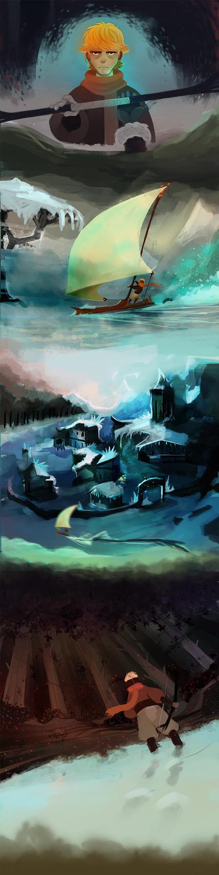 Frostblight:Saga (16) by michaeldoig