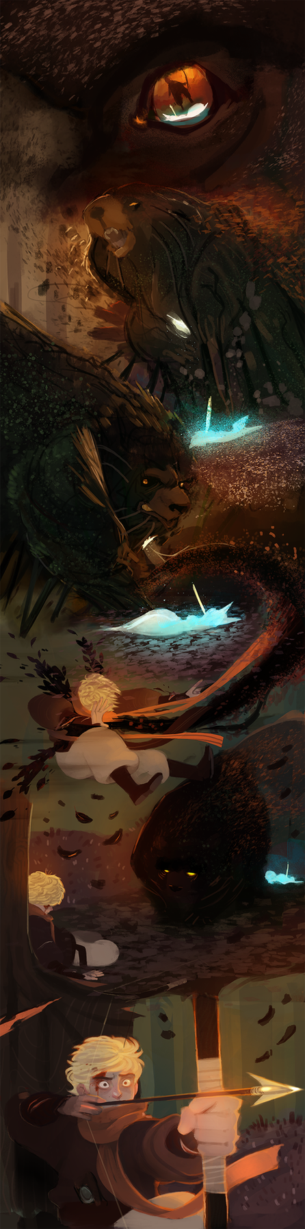 Frostblight:Saga (18) by michaeldoig