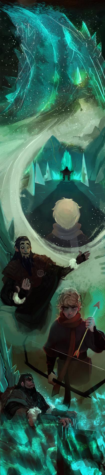 Frostblight:Saga (21) by michaeldoig