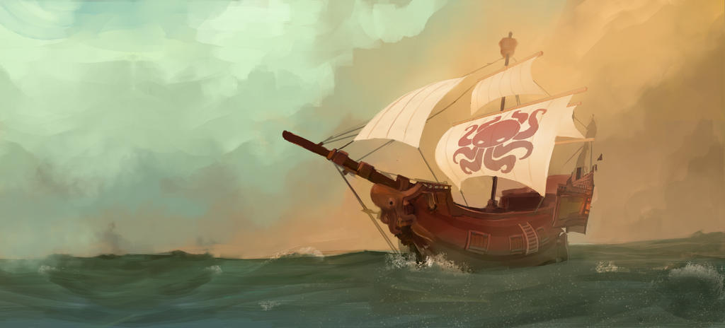 Hidden Armada Banner by michaeldoig