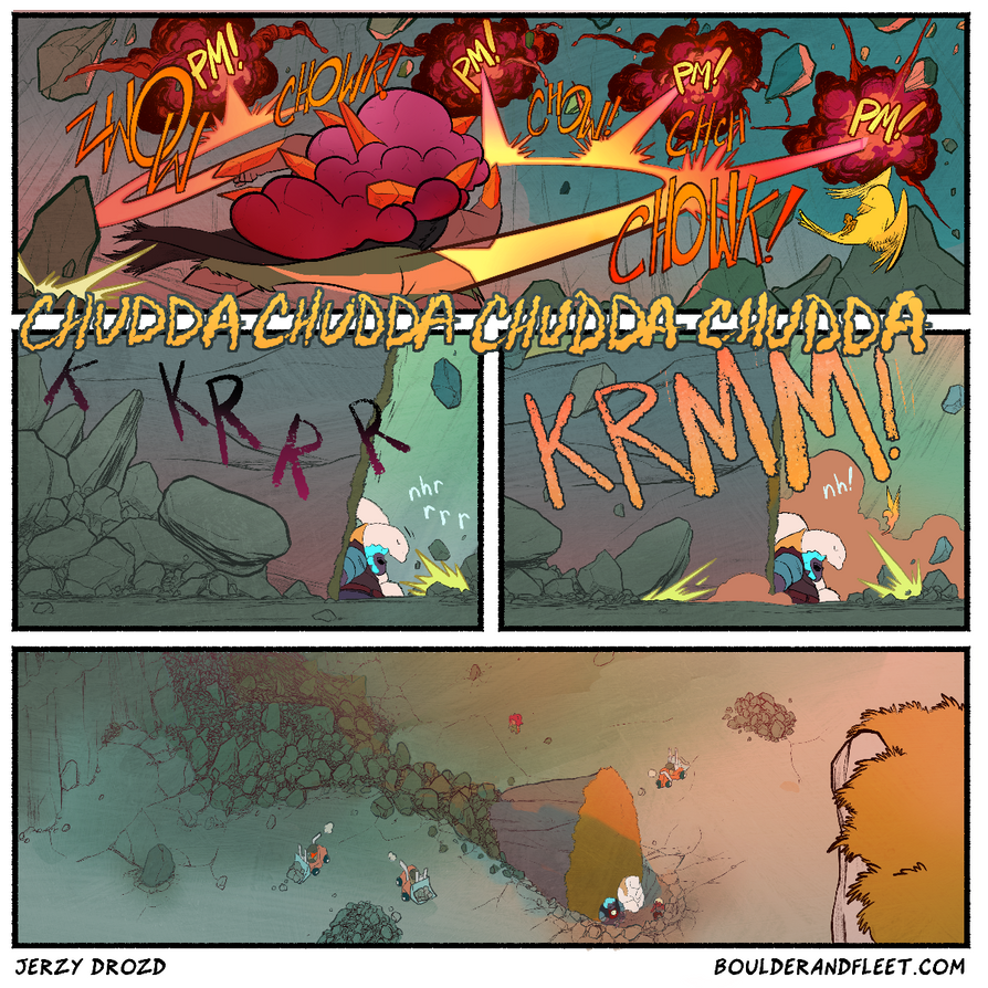 Boulder and Fleet - Practice Colouring - Page 75 by michaeldoig