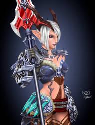 Female Castanic - Valkyrie Tera online FanArt