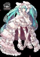Miku Hatsune Render by Yuacchi
