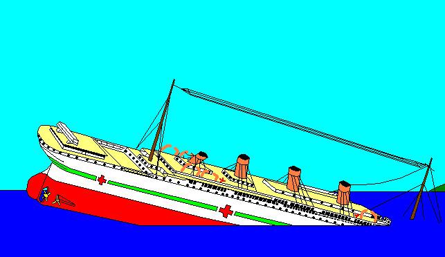 Britannic Sinking Simulator Britannic Sinking Animation