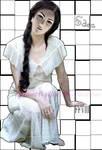 Edea FFVIII in white dress by linneVegGirl