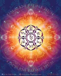 Om Mani Padme Hum- Embodiment of Compassion Mantra