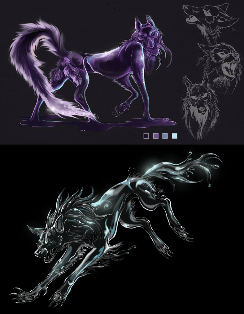 anmnaa sketches by Noive