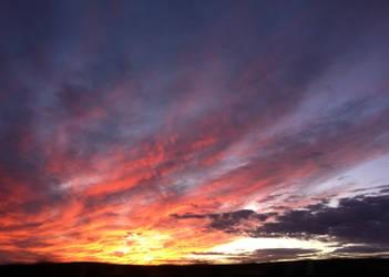 God's Paintbrush 01 - Nebraska Sunset by DVeditor