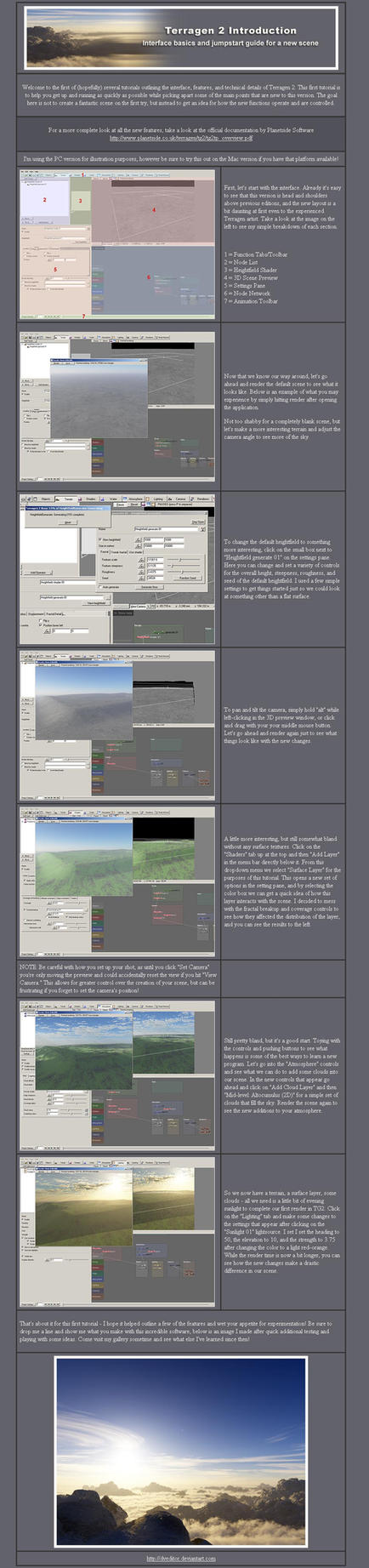 Terragen 2 Intro and Tutorial by DVeditor