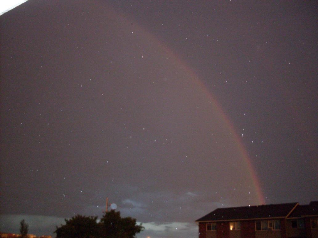 Rainbow At Night 1 by IAmSimCarstairs