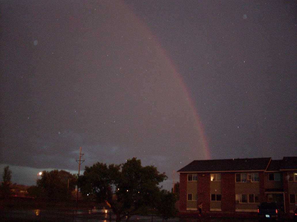 Rainbow At Night 3 by IAmSimCarstairs