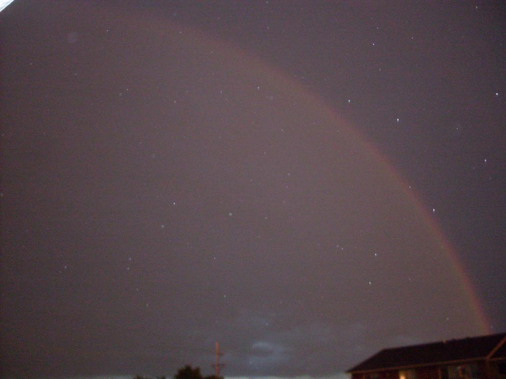 Rainbow At Night 2 by IAmSimCarstairs