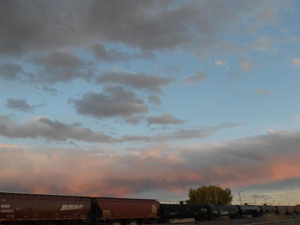 Wyoming Evening Sky 6 by IAmSimCarstairs