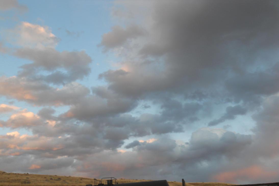 Wyoming Evening Sky 7 by IAmSimCarstairs