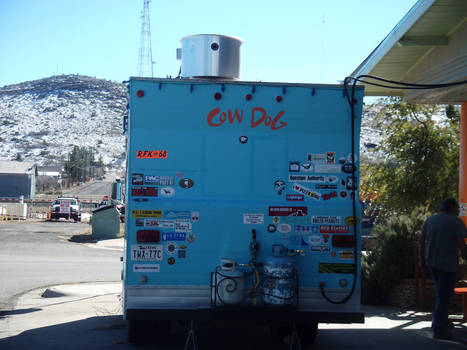 Cow Dog Food Truck