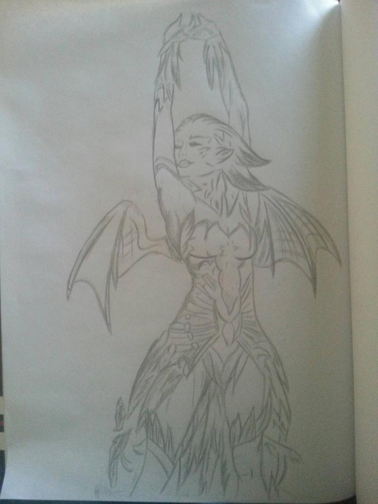 Female Sylvari - Guild Wars 2  by SylvariGuy