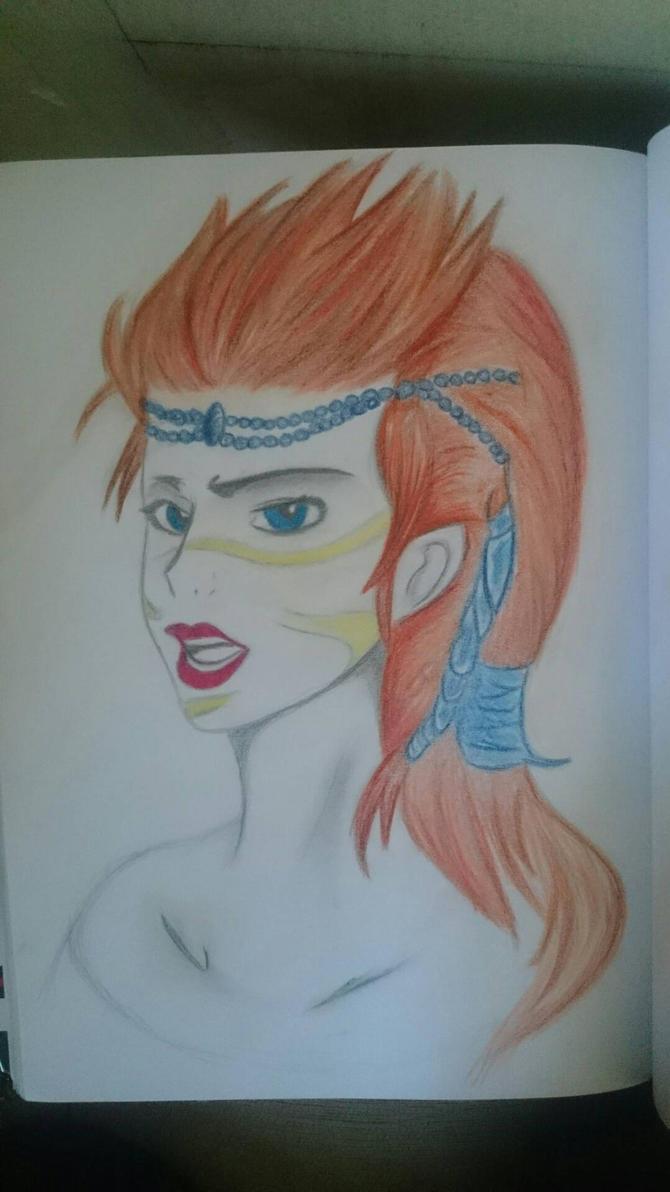 female  norn - Guild Wars 2 by SylvariGuy