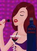 Skyy Berry Vodka by evilmunchkin