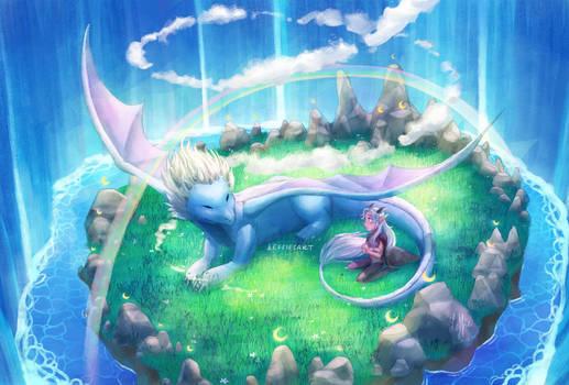 Zym and Rayla - The Dragon Prince