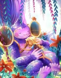 Hazel and Tuba (Infinity Train)