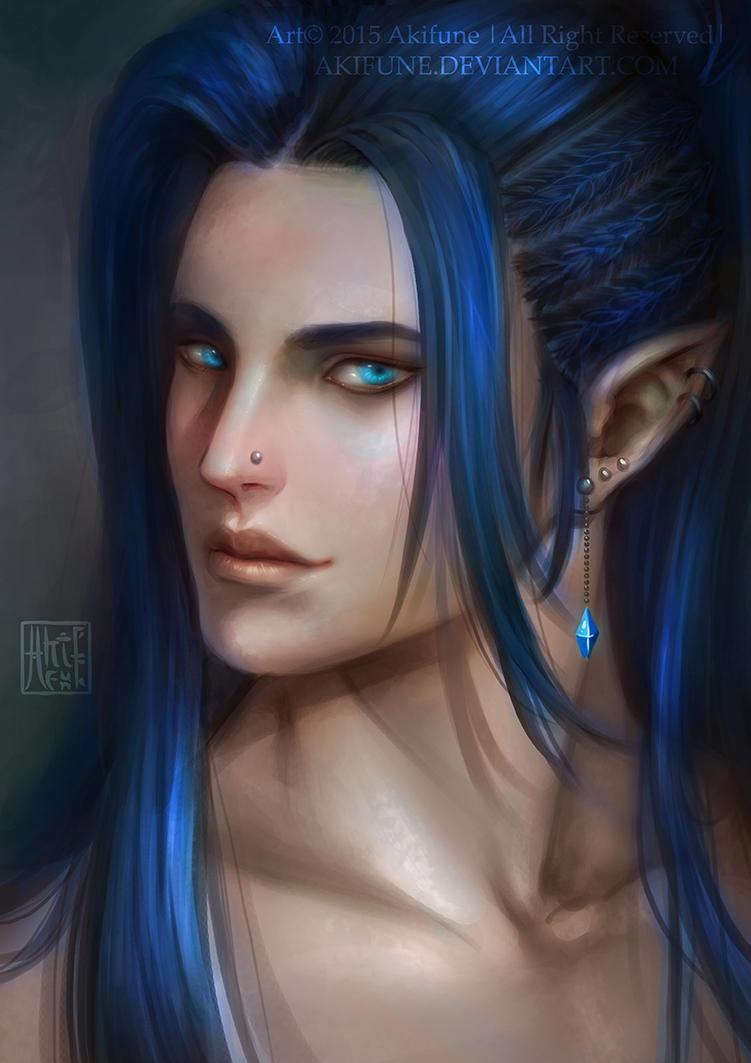 Luinnein :: Deep Blue :: by akifune