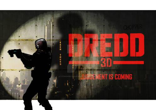 Dredd 3D - animated / alt poster