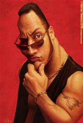 Dwayne 'The Rock' Johnson by Bigboithomas84