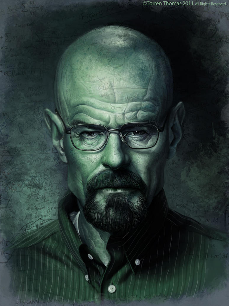 Breaking Bad: Walter White by Bigboithomas84