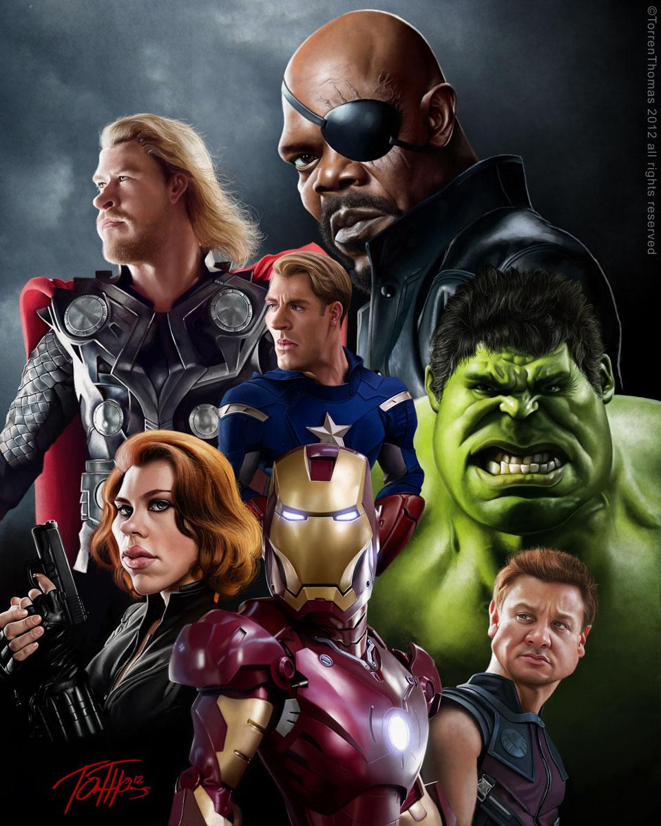 Avengers by Bigboithomas84