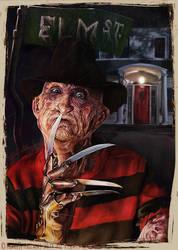 Freddy Krueger 14' by Bigboithomas84