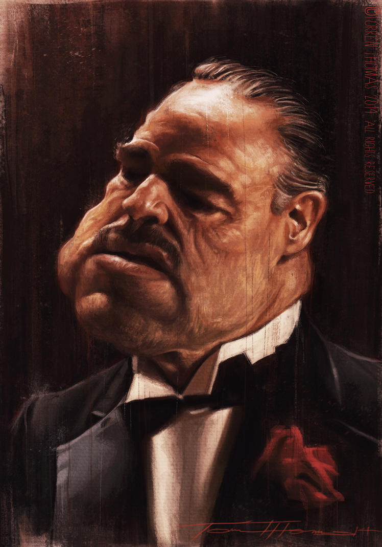 Don Vito Corleone by Bigboithomas84