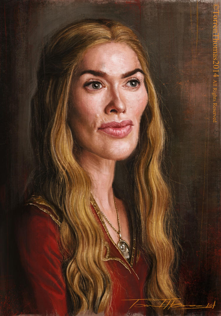 Cersei Lannister by Bigboithomas84