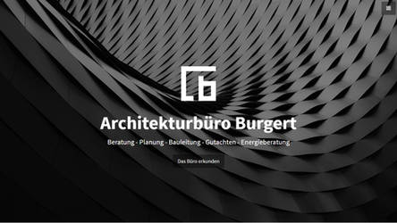 Architecture Homepage, responsive - sold