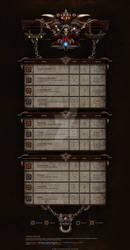Diablo III Forum design by deviantartspeedfreak