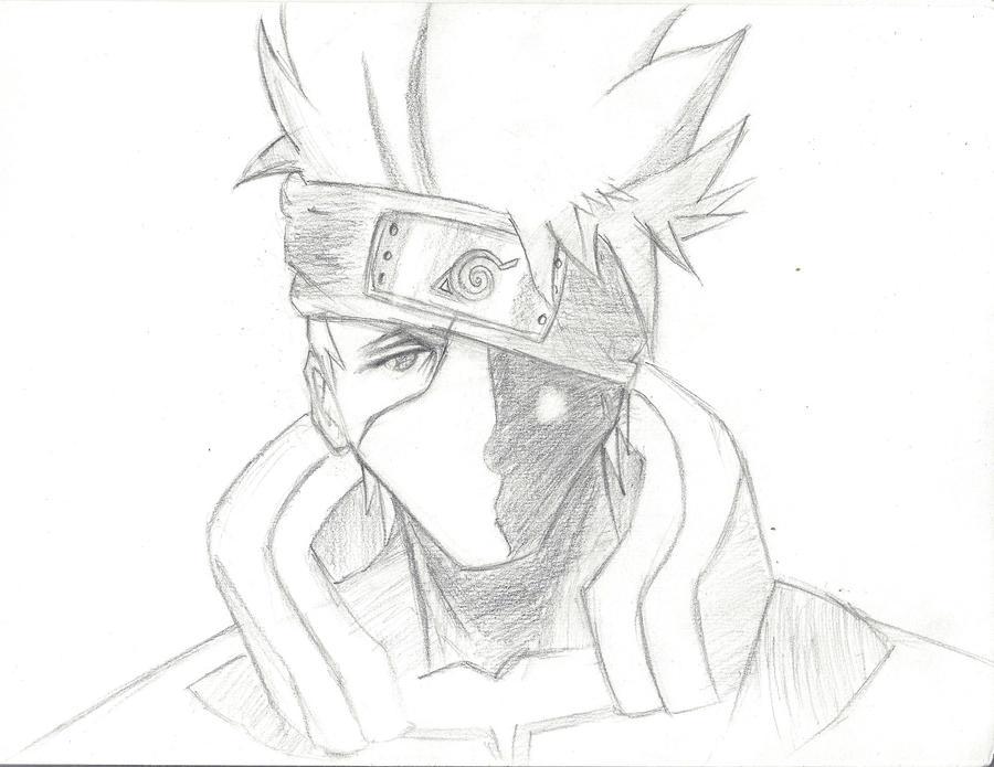 kakashi sketches - 900×695