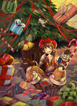 Get piled in da gifts!! by Ariyx
