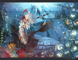 Aquamarine by kawacy