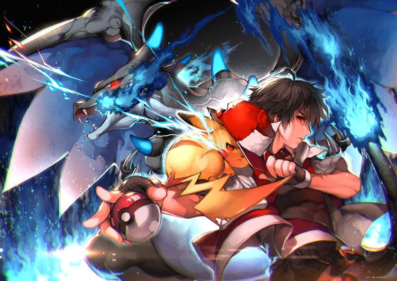Výsledek obrázku pro pokemon fighting deviantart