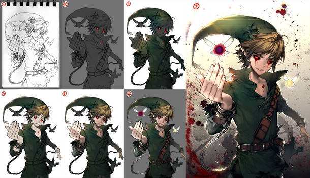 Ben drowned step by step