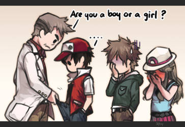 Are you a boy or a girl ?