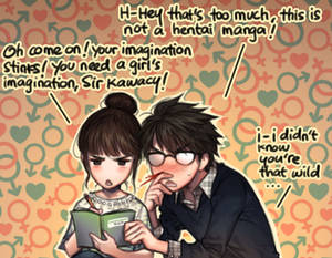 A girl's wild imagination