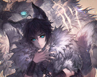 The monster inside me by kawacy