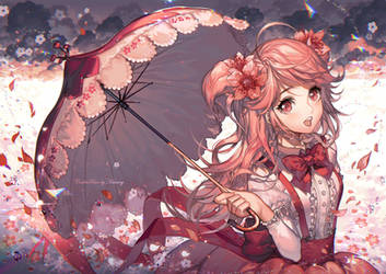 A Dream in Pink by kawacy
