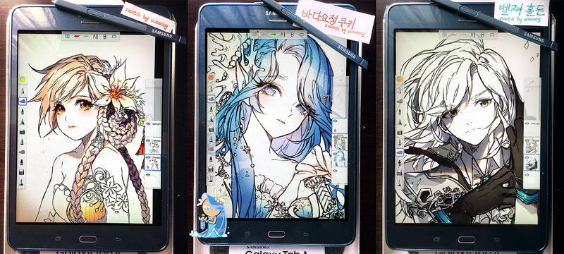 Samsung All Sketches
