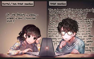 Looking at good arts