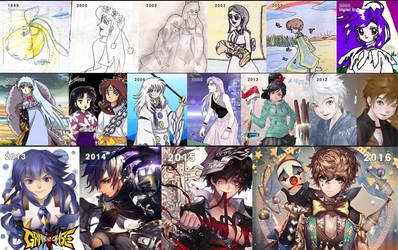 1999 - 2016 improvement by kawacy