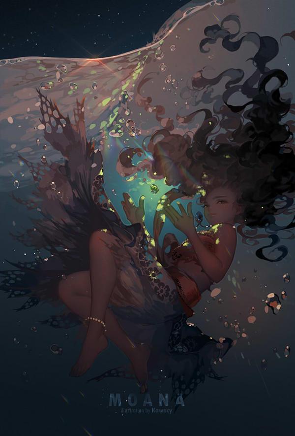 Heart of the Sea by kawacy