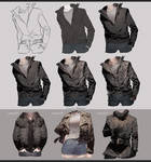 Drawing Leather Jacket