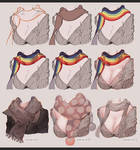 How to Paint Scarf