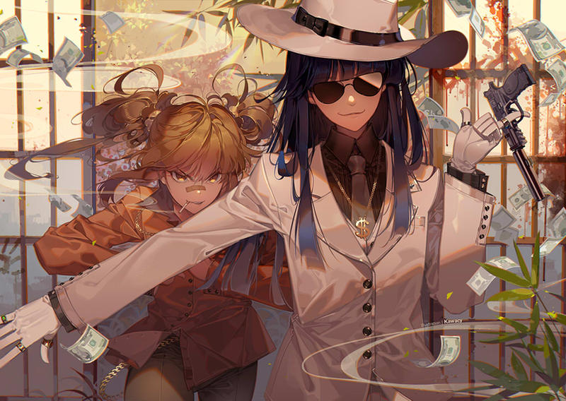 Partners in Crime by kawacy